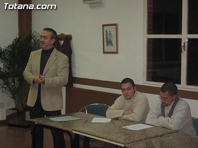 JUAN FRANCISCO OT�LORA TUDELA SER� EL CANDIDATO DEL PSOE A LA ALCALD�A DE TOTANA PARA LAS ELECCIONES DE MAYO DE 2007 - 8