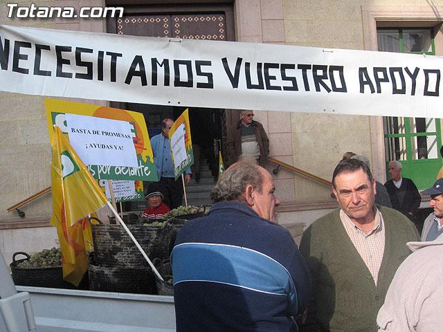 EL PLENO DEL AYUNTAMIENTO DE TOTANA APRUEBA UNA MOCI�N CONJUNTA DE APOYO A LOS AGRICULTORES DE PARRALES DE UVA AFECTADOS POR LAS LLUVIAS DE NOVIEMBRE Y PEDIR AYUDAS A LAS ADMINISTRACIONES IMPLICADAS - 11