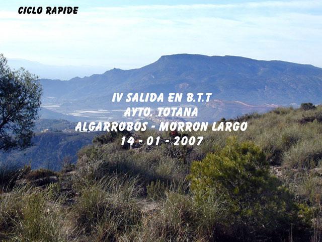 IV SALIDA EN B.T.T. AYTO- TOTANA - 1