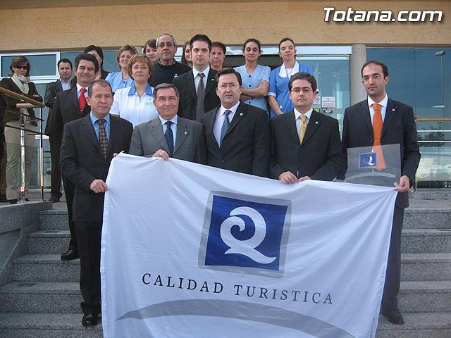 RUIZ ABELLÁN ENTREGÓ LA 'Q' DE CALIDAD TURÍSTICA AL HOTEL 'EXECUTIVE SPORT' DE TOTANA - 8