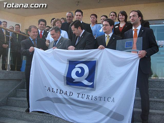 RUIZ ABELLÁN ENTREGÓ LA 'Q' DE CALIDAD TURÍSTICA AL HOTEL 'EXECUTIVE SPORT' DE TOTANA - 9