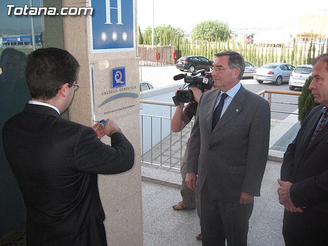 RUIZ ABELLÁN ENTREGÓ LA 'Q' DE CALIDAD TURÍSTICA AL HOTEL 'EXECUTIVE SPORT' DE TOTANA - 16