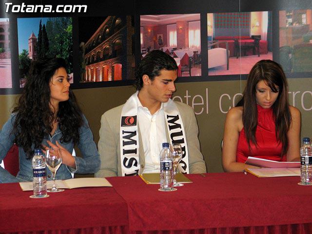 LAS CANDIDATAS A LA CORONA DE MISS MURCIA 2006 ESTUVIERON EN EL HOTEL DE LA SANTA, EN TOTANA - 5