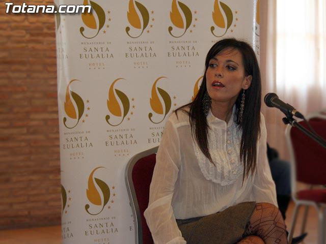 LAS CANDIDATAS A LA CORONA DE MISS MURCIA 2006 ESTUVIERON EN EL HOTEL DE LA SANTA, EN TOTANA - 25
