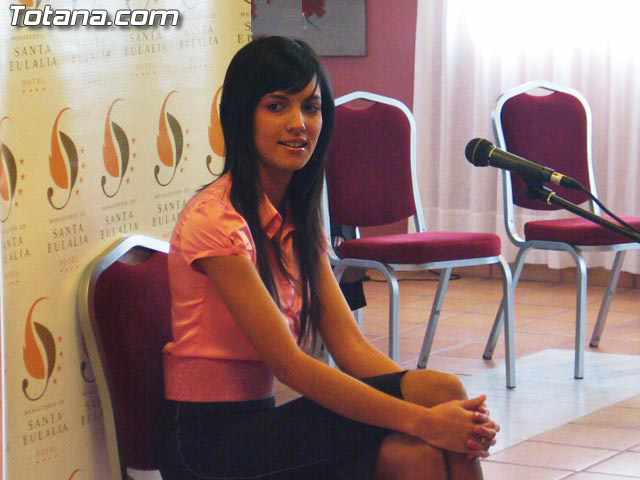 LAS CANDIDATAS A LA CORONA DE MISS MURCIA 2006 ESTUVIERON EN EL HOTEL DE LA SANTA, EN TOTANA - 28