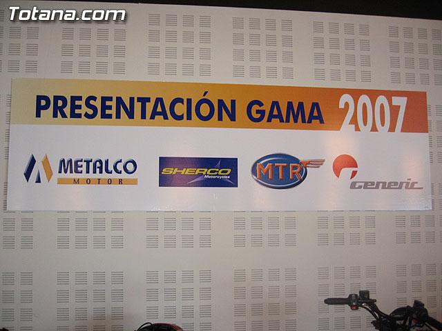 PRESENTACI�N GAMA 2007 SHERCO, MTR Y GENERIC - 19