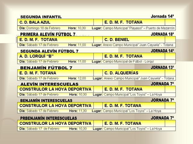 AGENDA DEPORTIVA (16/02/2007) - 2
