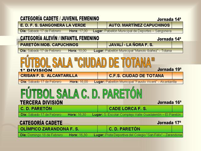 AGENDA DEPORTIVA (16/02/2007) - 4