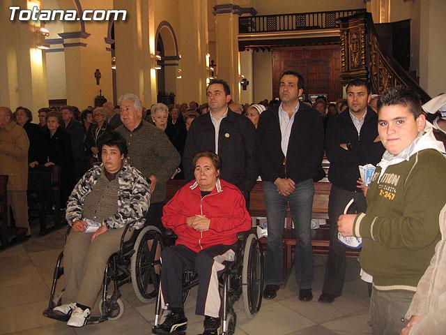 NUMEROSAS PERSONAS PARTICIPARON EL PASADO S�BADO 10 DE FEBRERO EN UNA PROCESI�N EN HONOR A LA VIRGEN DE LOURDES - 2