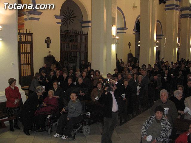 NUMEROSAS PERSONAS PARTICIPARON EL PASADO S�BADO 10 DE FEBRERO EN UNA PROCESI�N EN HONOR A LA VIRGEN DE LOURDES - 5