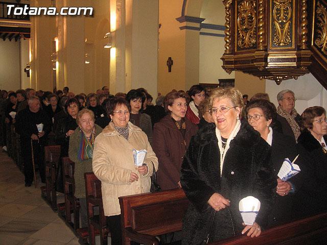NUMEROSAS PERSONAS PARTICIPARON EL PASADO S�BADO 10 DE FEBRERO EN UNA PROCESI�N EN HONOR A LA VIRGEN DE LOURDES - 7
