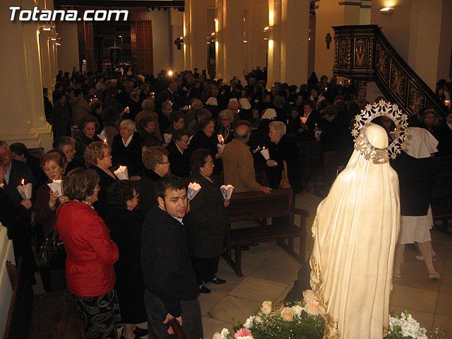 NUMEROSAS PERSONAS PARTICIPARON EL PASADO S�BADO 10 DE FEBRERO EN UNA PROCESI�N EN HONOR A LA VIRGEN DE LOURDES - 13