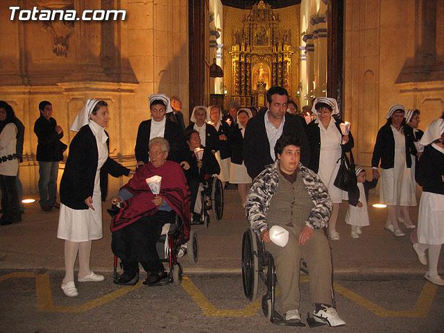 NUMEROSAS PERSONAS PARTICIPARON EL PASADO S�BADO 10 DE FEBRERO EN UNA PROCESI�N EN HONOR A LA VIRGEN DE LOURDES - 21