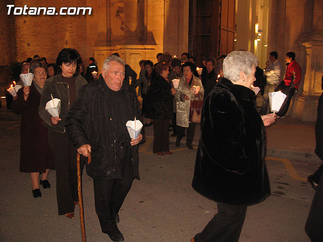 NUMEROSAS PERSONAS PARTICIPARON EL PASADO S�BADO 10 DE FEBRERO EN UNA PROCESI�N EN HONOR A LA VIRGEN DE LOURDES - 31