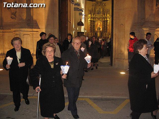 NUMEROSAS PERSONAS PARTICIPARON EL PASADO S�BADO 10 DE FEBRERO EN UNA PROCESI�N EN HONOR A LA VIRGEN DE LOURDES - 33