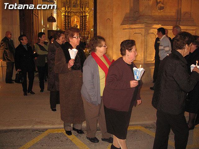 NUMEROSAS PERSONAS PARTICIPARON EL PASADO S�BADO 10 DE FEBRERO EN UNA PROCESI�N EN HONOR A LA VIRGEN DE LOURDES - 37