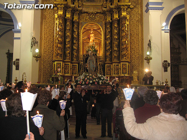 NUMEROSAS PERSONAS PARTICIPARON EL PASADO S�BADO 10 DE FEBRERO EN UNA PROCESI�N EN HONOR A LA VIRGEN DE LOURDES - 54