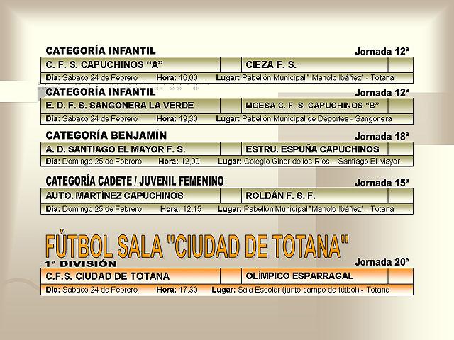 AGENDA DEPORTIVA (23/02/2007) - 3
