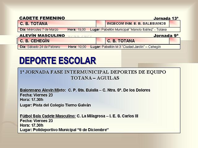AGENDA DEPORTIVA (23/02/2007) - 5