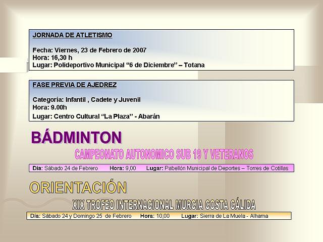 AGENDA DEPORTIVA (23/02/2007) - 6