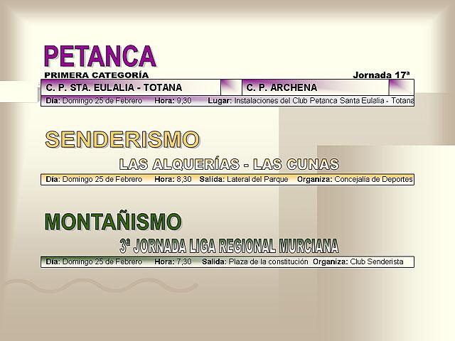 AGENDA DEPORTIVA (23/02/2007) - 7