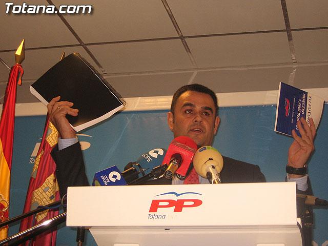 UN MILLAR DE PERSONAS ARROPAN AL CANDIDATO A LA ALCALDÍA DEL PP, JOSÉ MARTÍNEZ ANDREO, EN SU PRESENTACIÓN OFICIAL PÚBLICA - 92