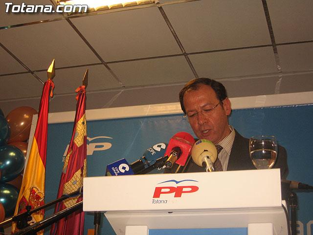 UN MILLAR DE PERSONAS ARROPAN AL CANDIDATO A LA ALCALDÍA DEL PP, JOSÉ MARTÍNEZ ANDREO, EN SU PRESENTACIÓN OFICIAL PÚBLICA - 93