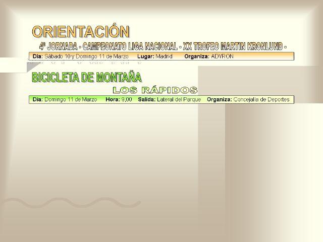 AGENDA DEPORTIVA (09/03/2007) - 6