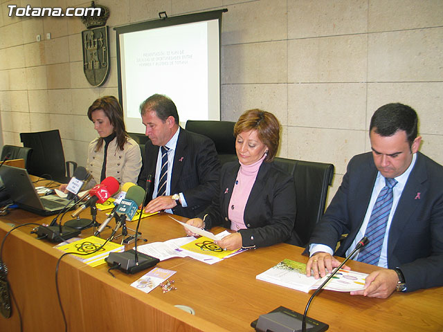 LA DIRECTORA DEL INSTITUTO DE LA MUJER Y LAS AUTORIDADES LOCALES PRESENTAN EL II PLAN DE IGUALDAD DE OPORTUNIDADES (2007/2011) DE TOTANA - 5