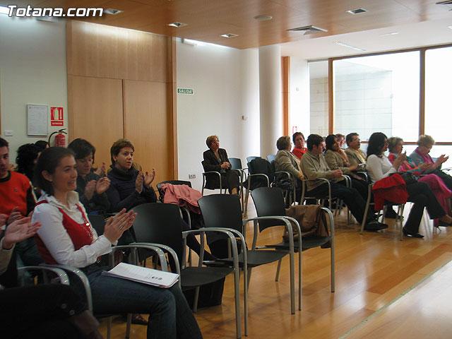 LA DIRECTORA DEL INSTITUTO DE LA MUJER Y LAS AUTORIDADES LOCALES PRESENTAN EL II PLAN DE IGUALDAD DE OPORTUNIDADES (2007/2011) DE TOTANA - 9