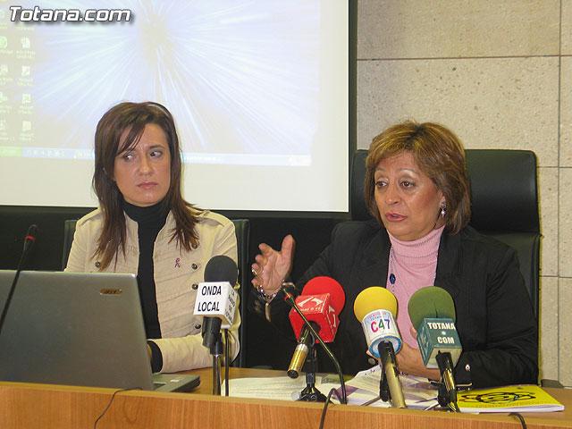 LA DIRECTORA DEL INSTITUTO DE LA MUJER Y LAS AUTORIDADES LOCALES PRESENTAN EL II PLAN DE IGUALDAD DE OPORTUNIDADES (2007/2011) DE TOTANA - 16