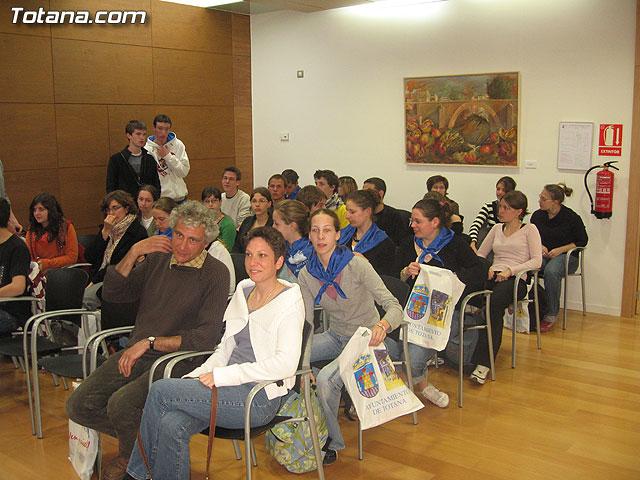 SE OFRECE UNA RECEPCI�N INSTITUCIONAL A 50 ALUMNOS FRANCESES QUE EST�N DE INTERCAMBIO EN TOTANA - 6