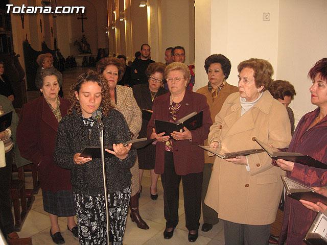 CORONACIÓN DE ESPINAS, CONCIERTO SACRO Y  SEDE DE LA COFRADÍA DE JESÚS RESUCITADO - 27