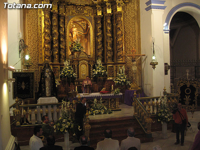 CORONACI�N DE ESPINAS, CONCIERTO SACRO Y  SEDE DE LA COFRAD�A DE JES�S RESUCITADO - 38