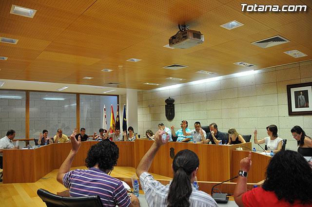 Pleno ordinario Julio 2009 - 1