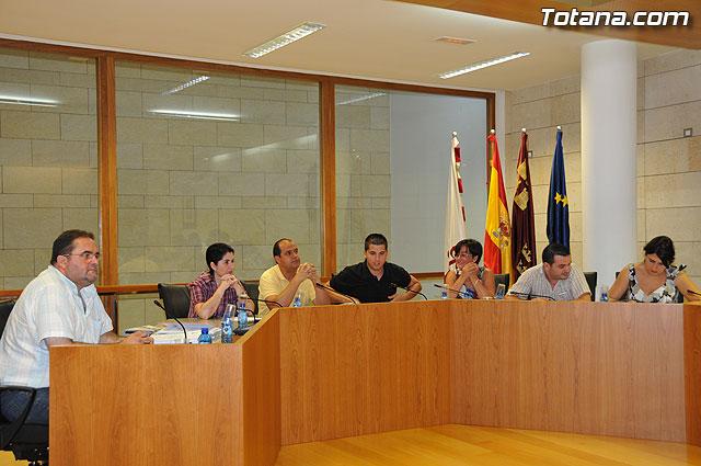 Pleno ordinario Julio 2009 - 3