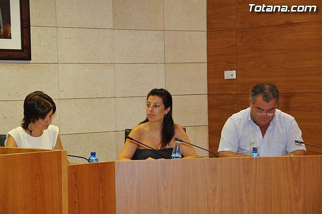 Pleno ordinario Julio 2009 - 5