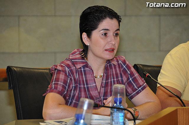 Pleno ordinario Julio 2009 - 7