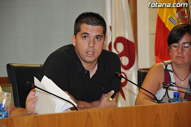 Pleno ordinario Julio 2009 - 10