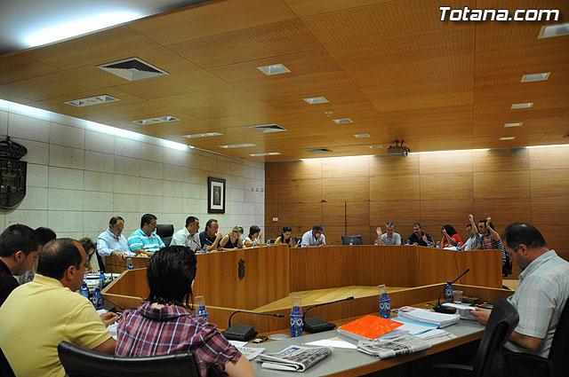 Pleno ordinario Julio 2009 - 12