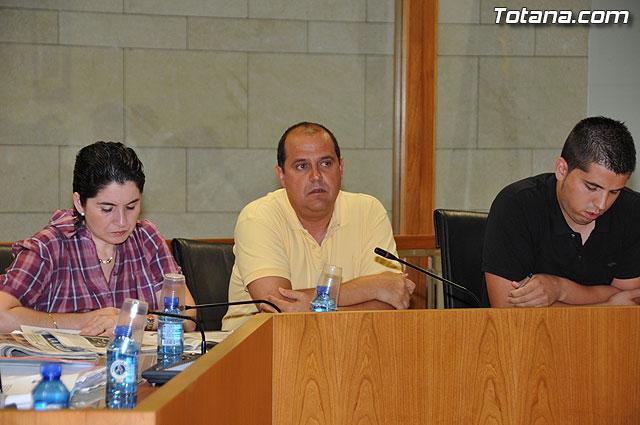 Pleno ordinario Julio 2009 - 14