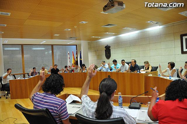 Pleno ordinario Julio 2009 - 16