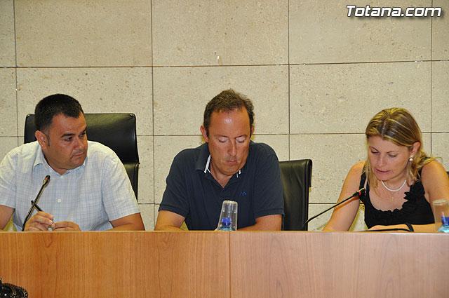 Pleno ordinario Julio 2009 - 18