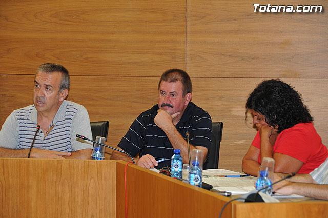 Pleno ordinario Julio 2009 - 20