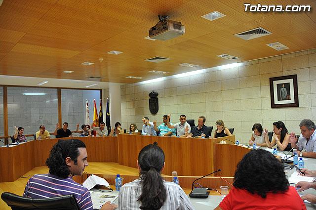 Pleno ordinario Julio 2009 - 25