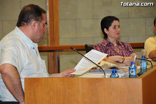Pleno ordinario Julio 2009 - 30