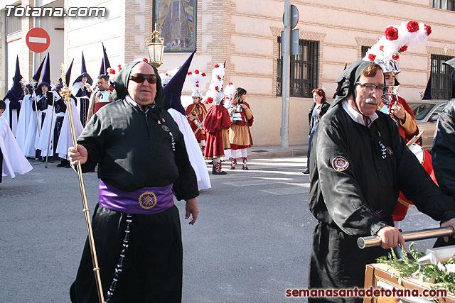 Traslado del Santo Sepulcro desde su sede a la Parroquia de Santiago. Totana 2010 - 19