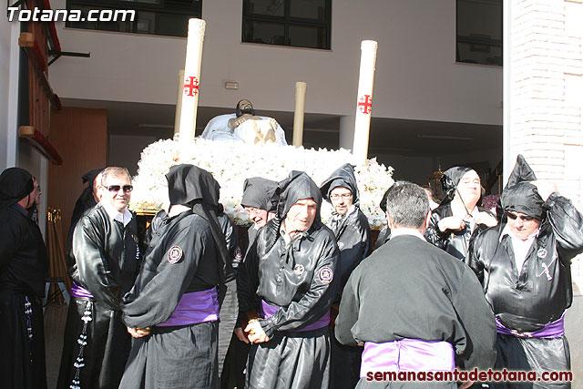Traslado del Santo Sepulcro desde su sede a la Parroquia de Santiago. Totana 2010 - 27