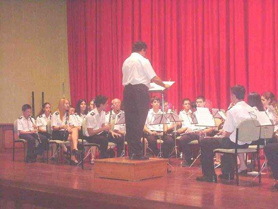 La Agrupación Musical de Totana inauguró el nuevo curso 2002/2003, Foto 1