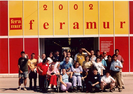 Los alumnos del Centro Ocupacional «José Moyá Trilla» viajaron a Lorca, Foto 1